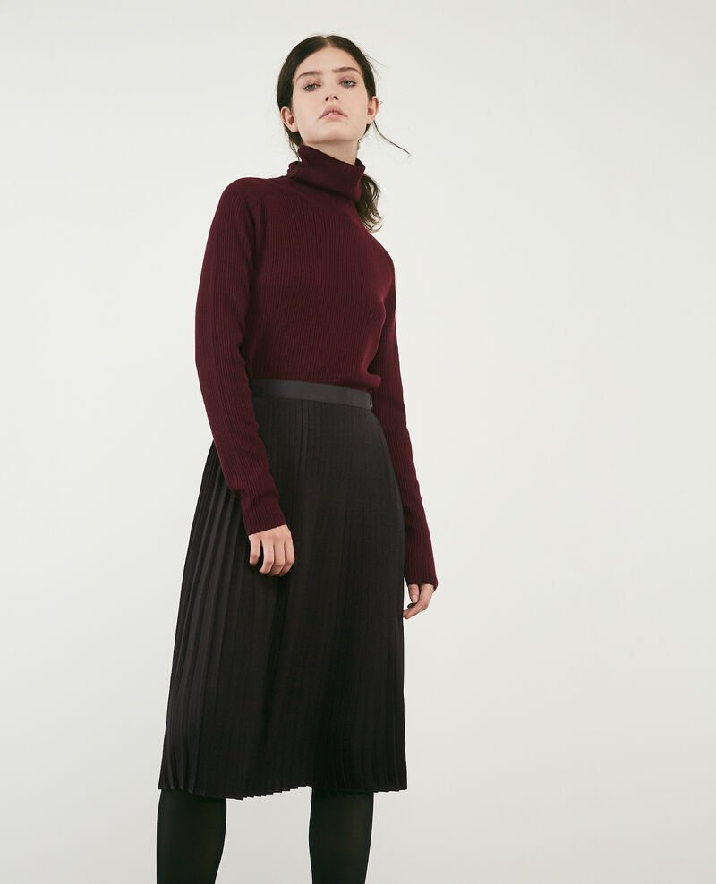 Pleated skirt Noir Dallerine