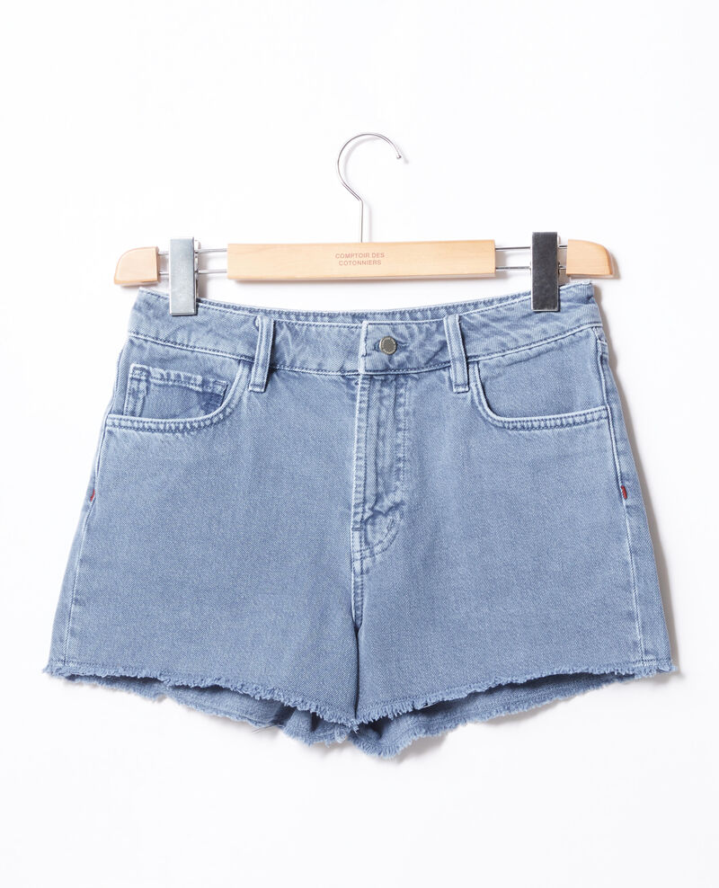 Fringed shorts Alpine blue Fintashort