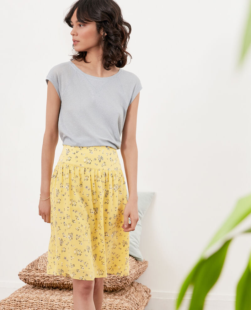 Midi skirt Lillybell lemon Fournilette
