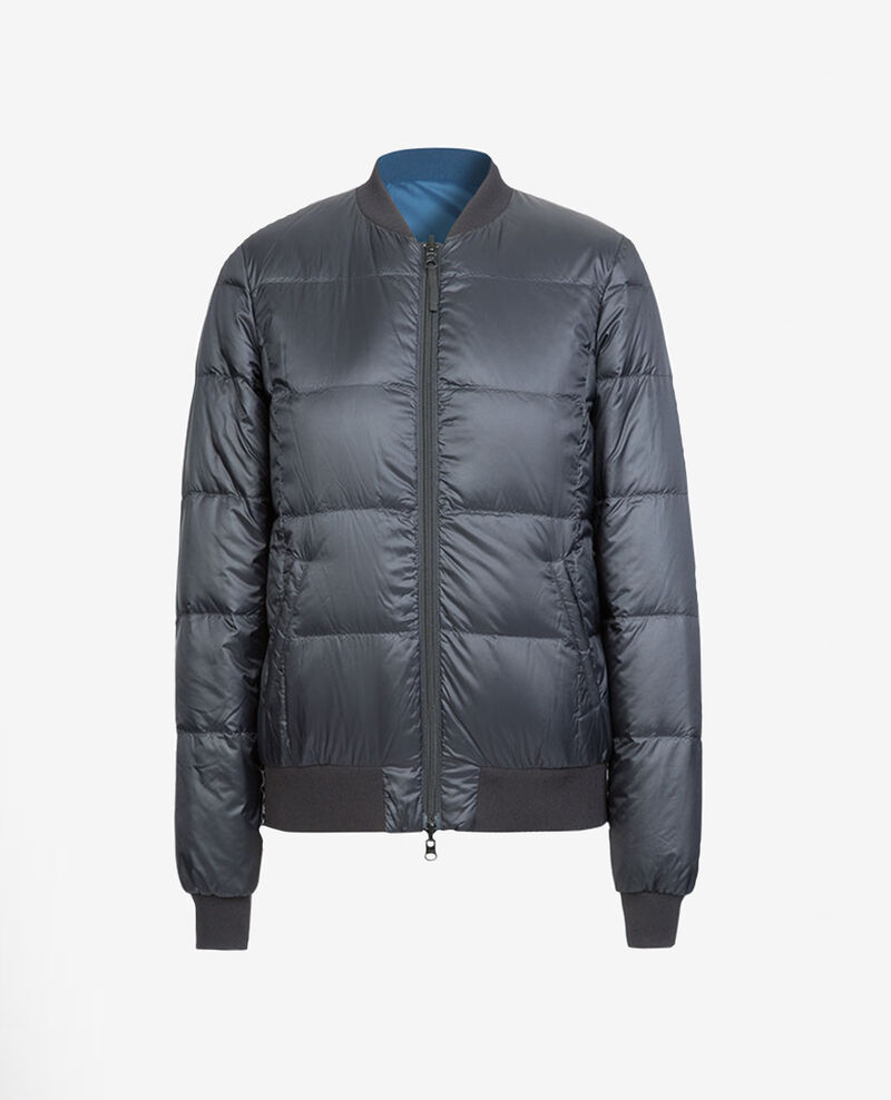 Reversible Down Jacket | ONLINE EXCLUSIVE NOIR/BLEU DE PRUSSE