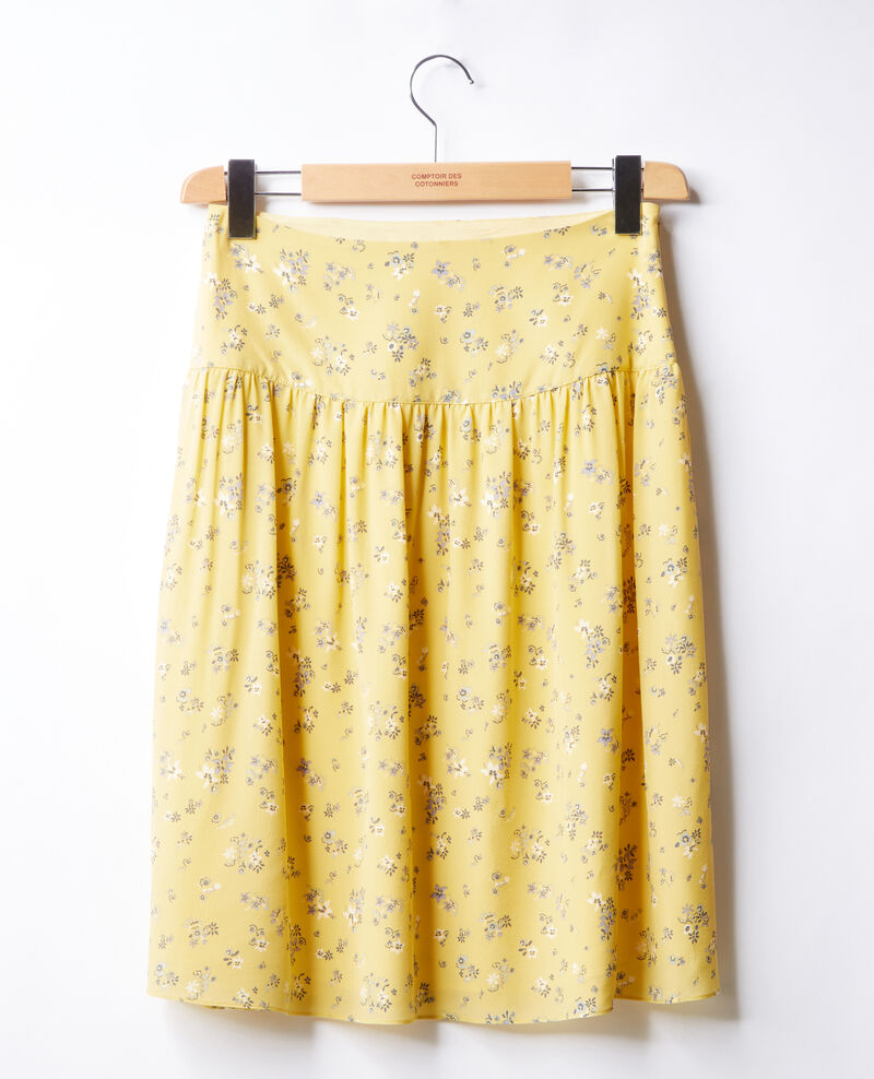 Midi skirt LILLYBELL LEMON