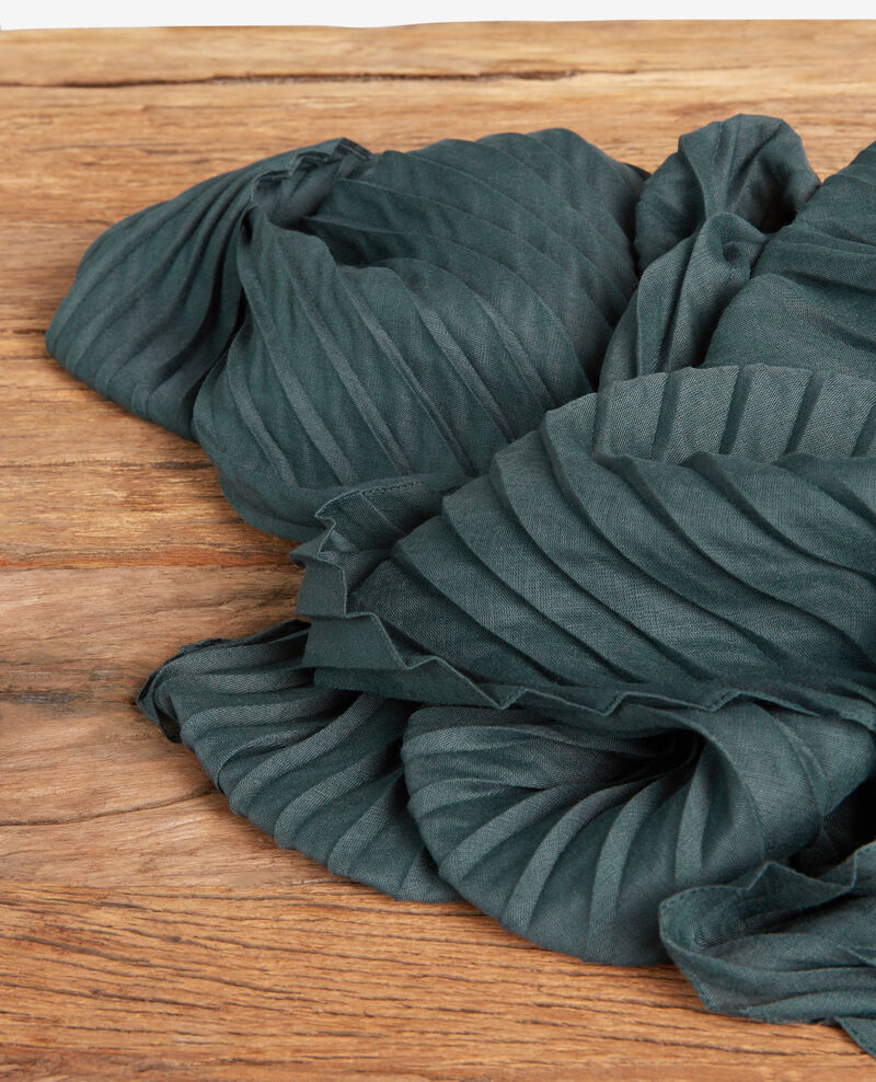 Pleated scarf Canopy Flissage