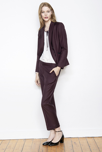 Woman look Office blazer and trousers