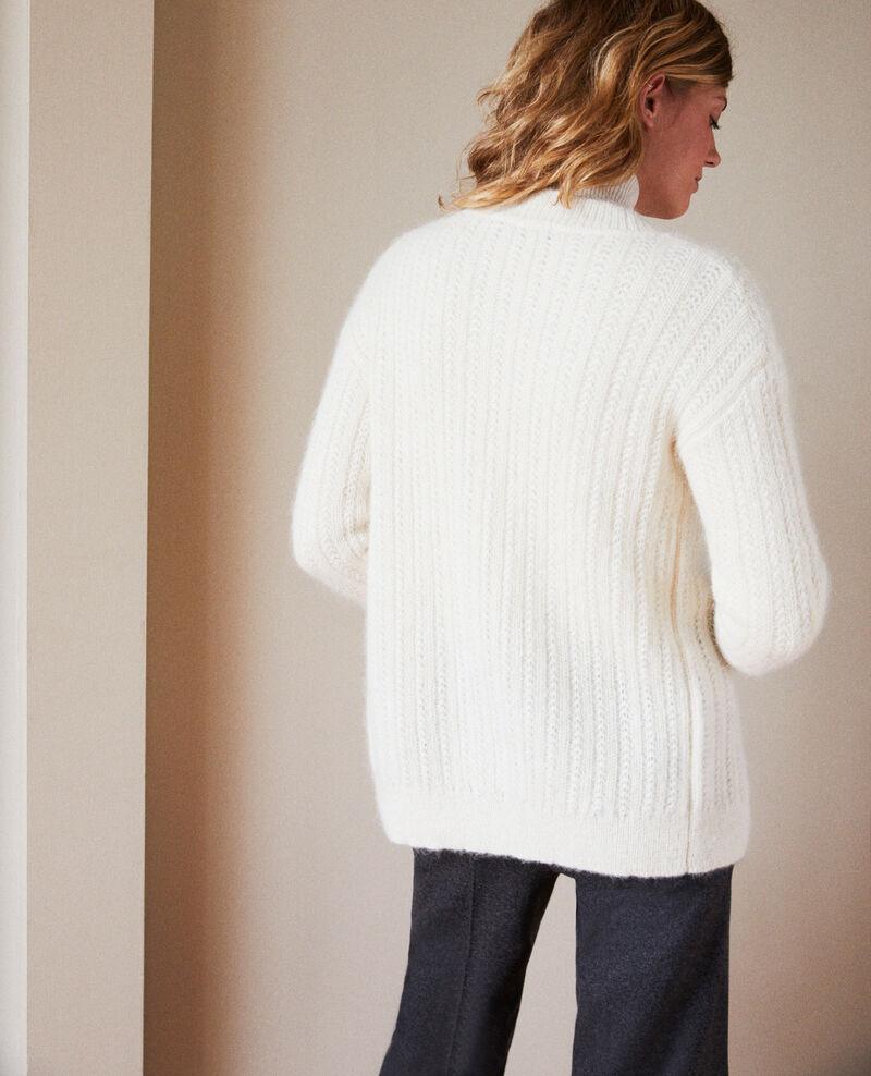 Novelty knit cardigan Buttercream Jaro