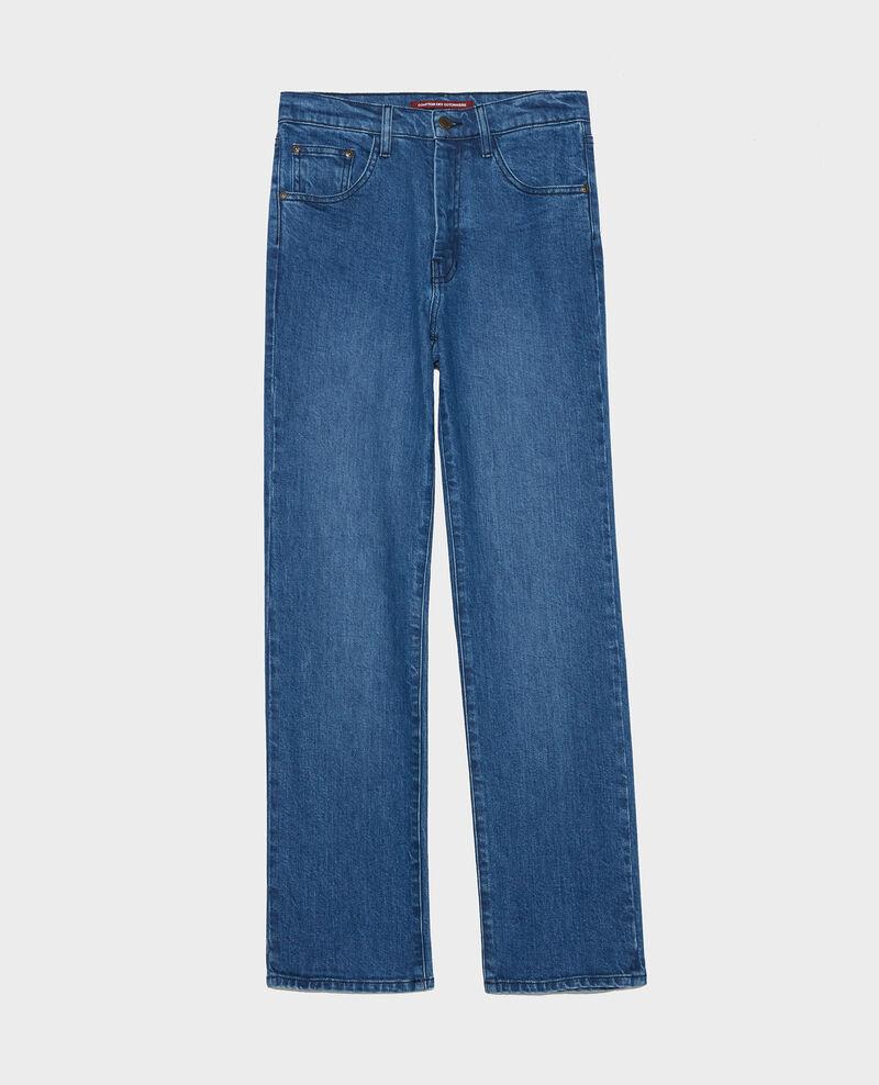 Straight-cut jeans Denim medium wash Linneou
