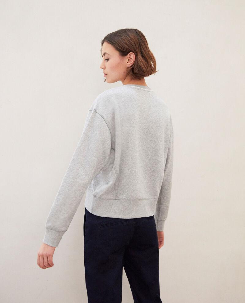 Lifewear sweatshirt Heather gr/ow Indie