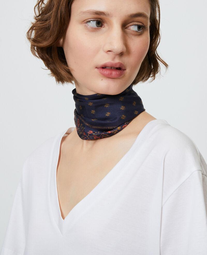 V-neck cotton t-shirt Optical white Laberne