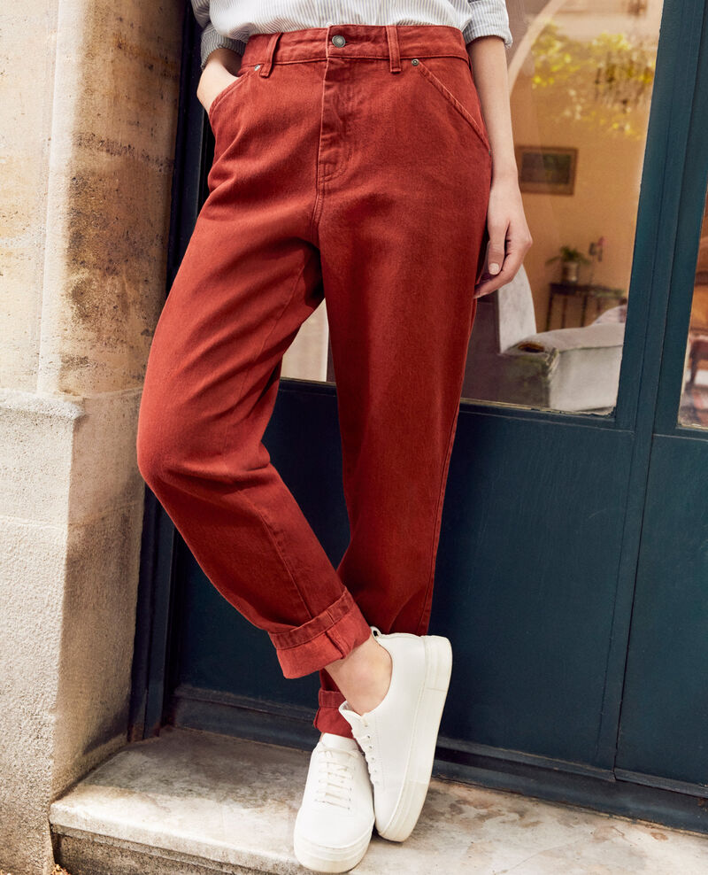 Fashion-fit jeans Brandy brown Jantone