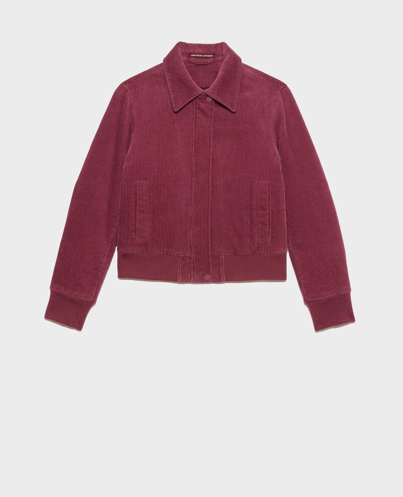 Corduroy zipped jacket Damson Piettry