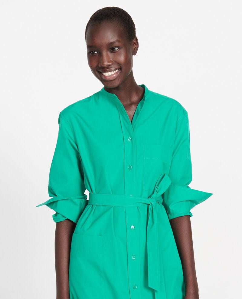 Oversize maxi dress Golf green Liomer