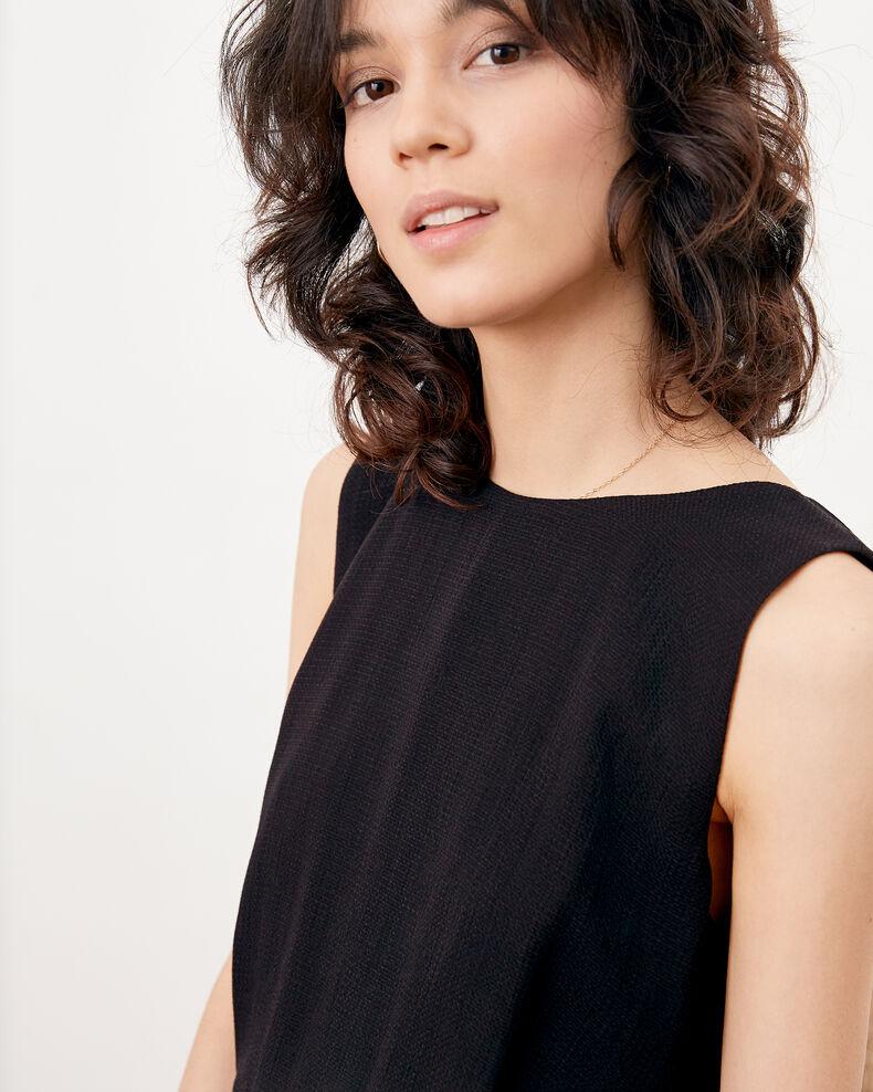 Dress with low-cut back Noir Fidele
