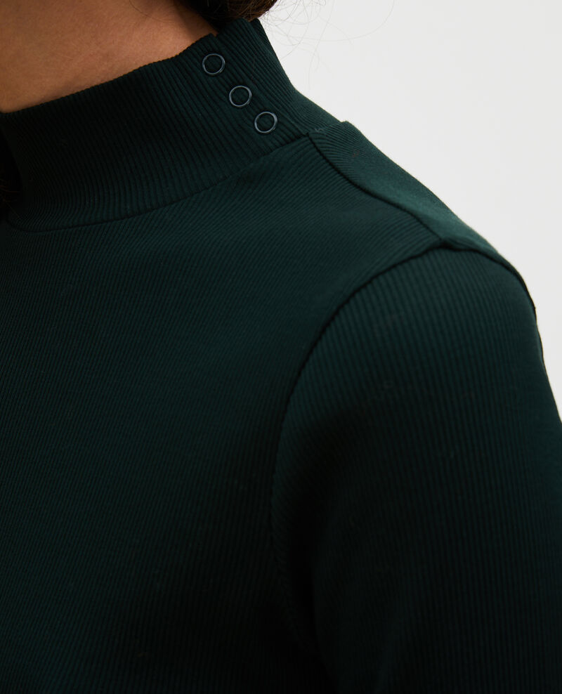 Long-sleeve stretch cotton jumper Scarab Marval