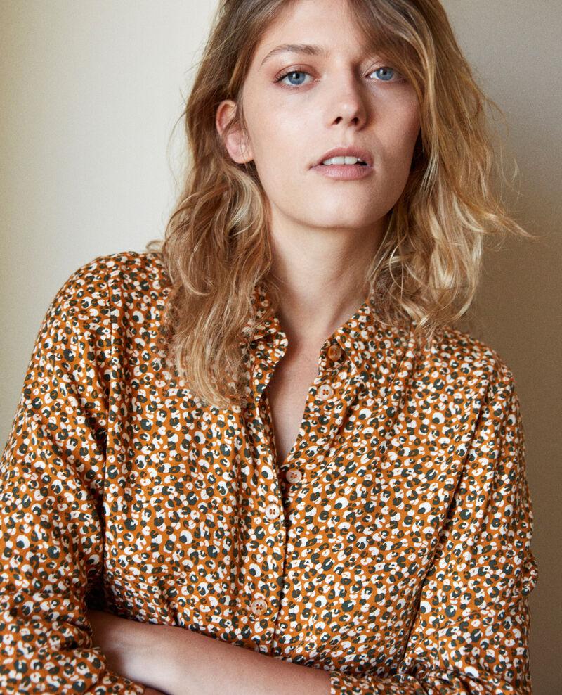 Printed shirt Leopard thai curry Jumulus