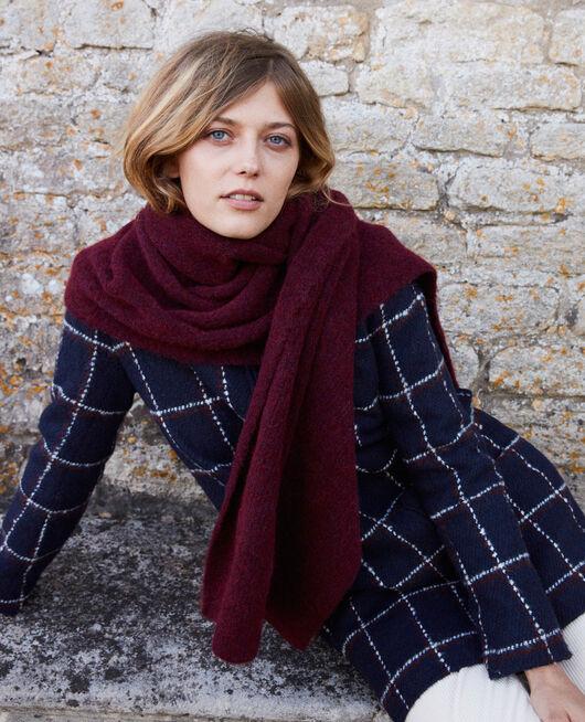 Fluffy scarf CABERNET