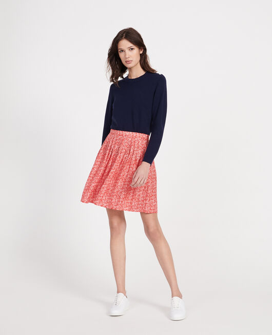 Skirt FEUILLAGE FIERY RED