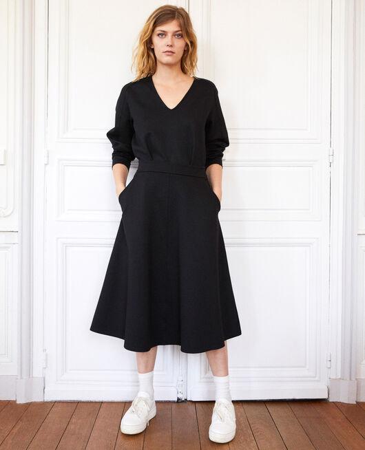 A-line skirt NOIR