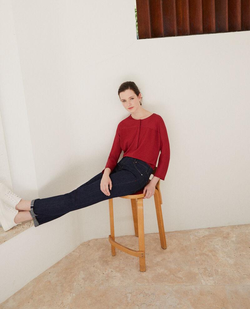 Fabric blend t-shirt Rio red Genious