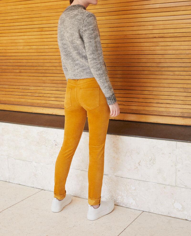 Slim fit jeans Golden brown Guillemin