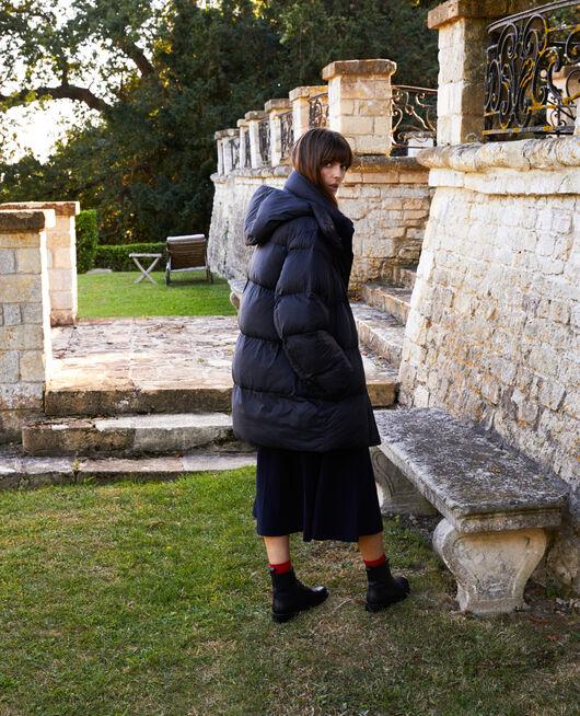 Extra large padded jacket NOIR
