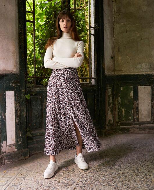 Printed maxi skirt NF COCONUT MILK