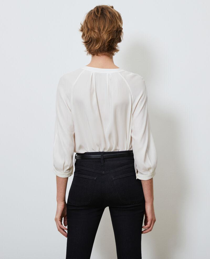 Loose silk blouse Gardenia Nadillac