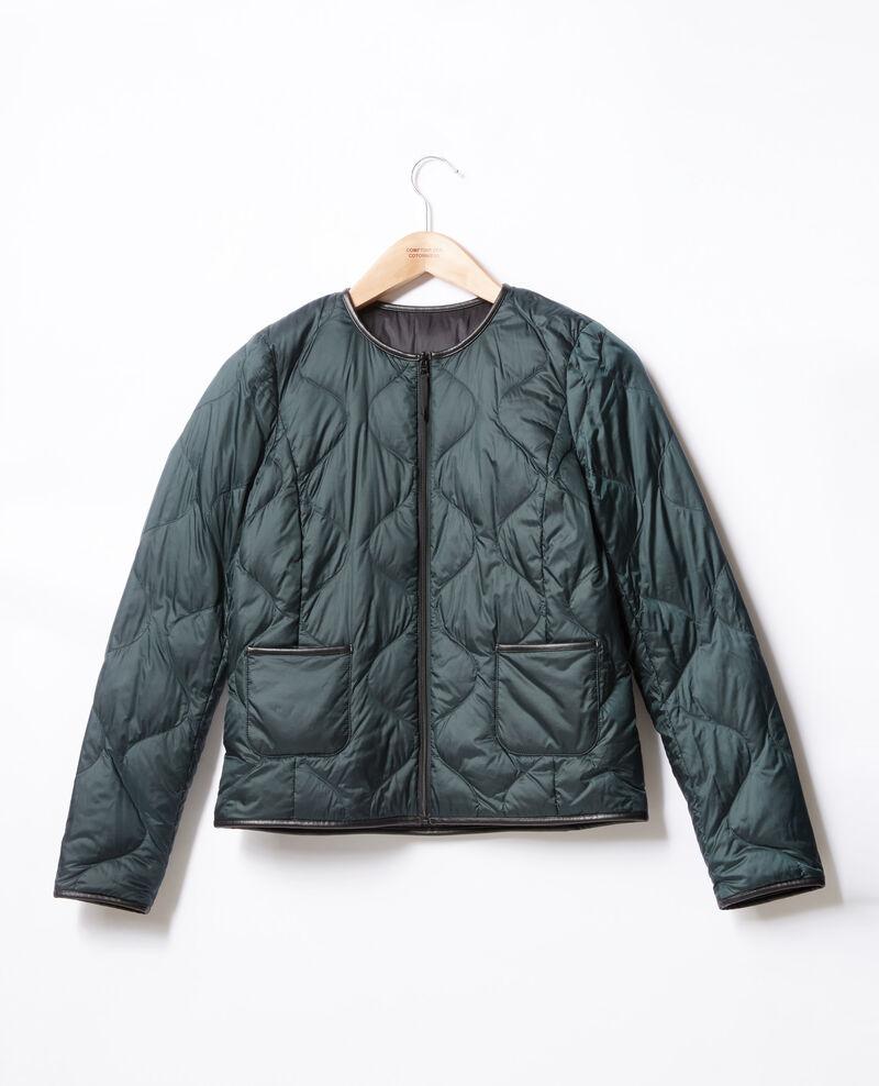 Reversible padded jacket Green Dinois