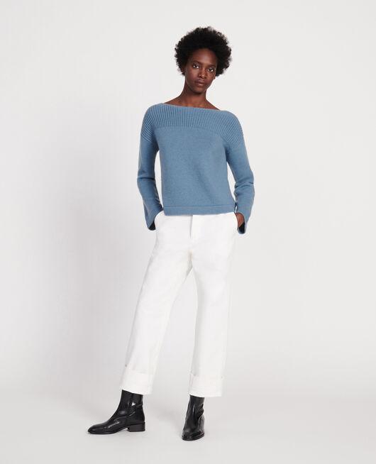 Wool and cashmere jumper BLUESTONE