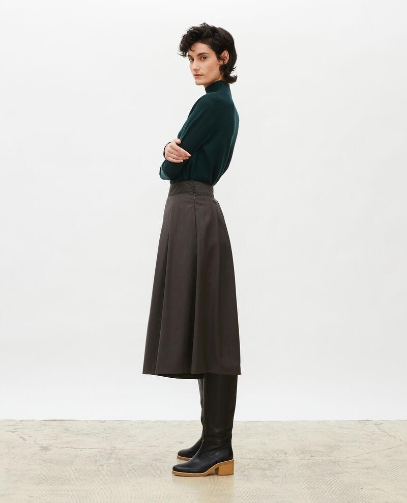 Turtleneck merino wool jumper Scarab Malleville