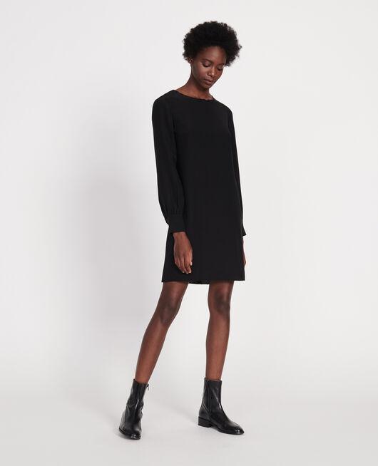 Silk dress BLACK BEAUTY