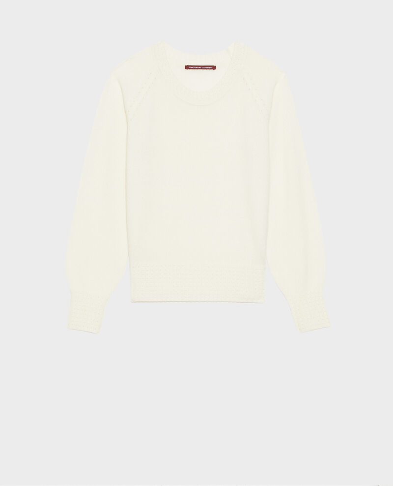 Round-neck cashmere jumper Gardenia Nogna