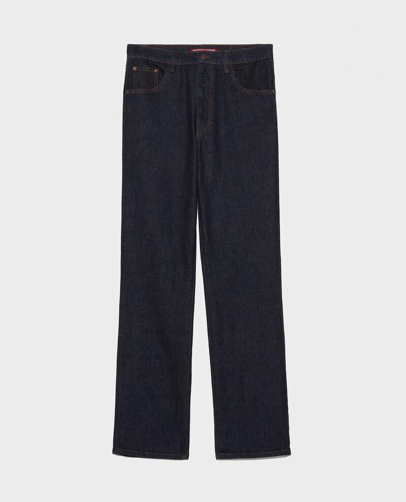 Straight dark denim jeans Denim rinse Linnea