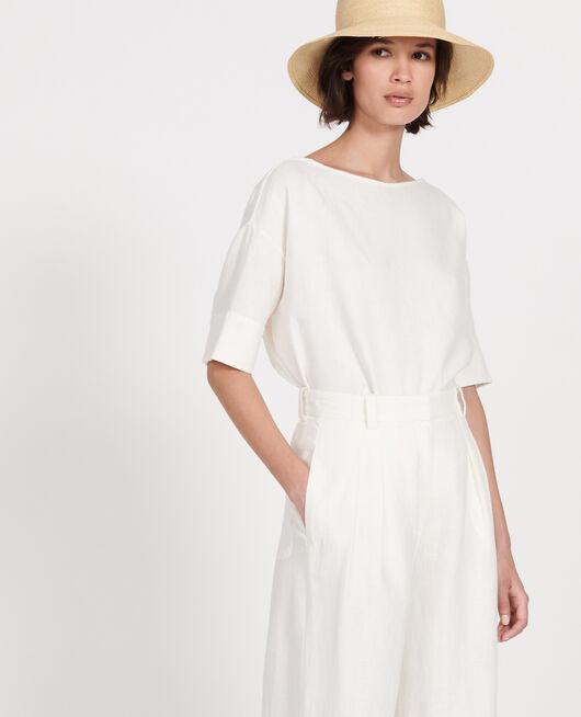 Linen blouse GARDENIA