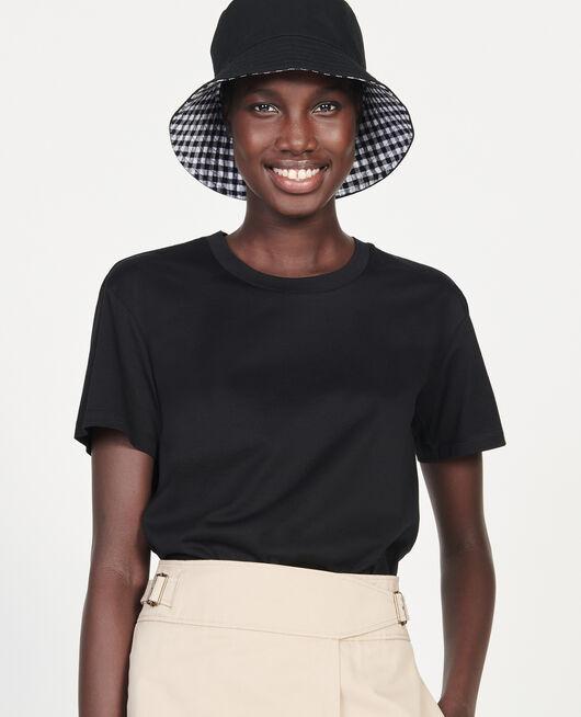 Classic egyptian cotton t-shirt BLACK BEAUTY