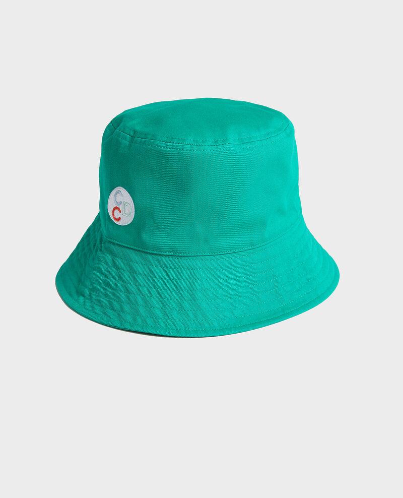 Cotton bucket hat Golf green Look