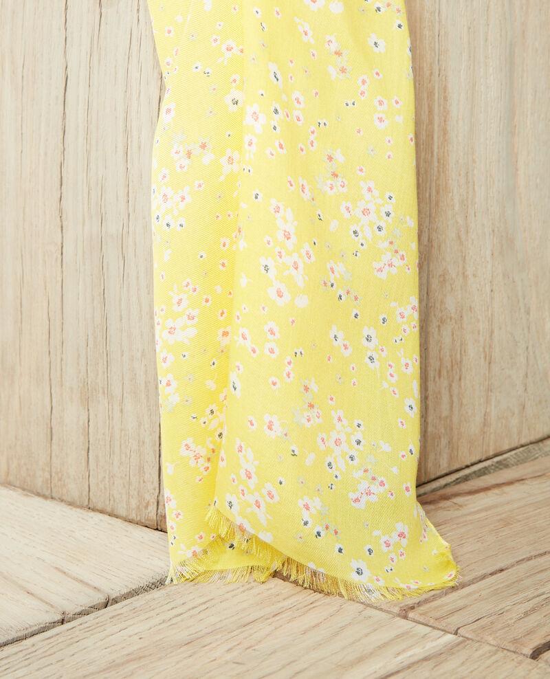 Printed scarf Primula sy Iprimula