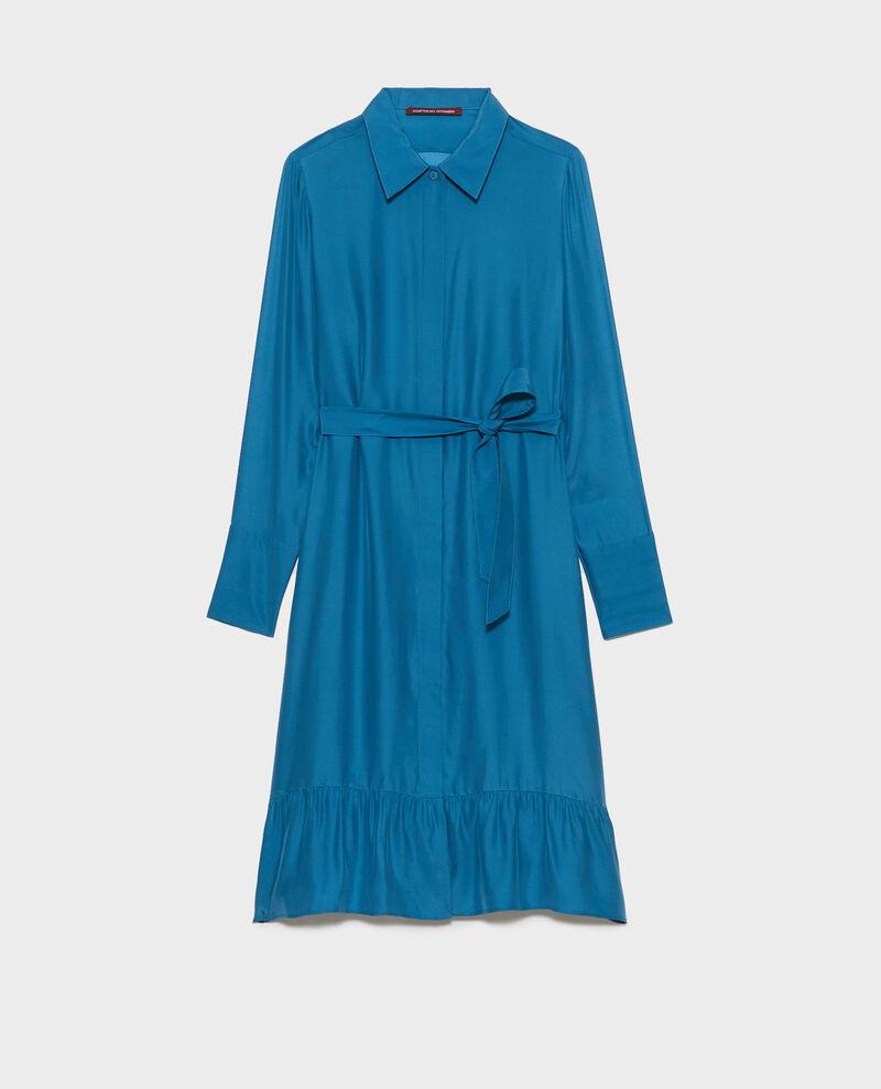 Silk shirt dress Faience Nishiga
