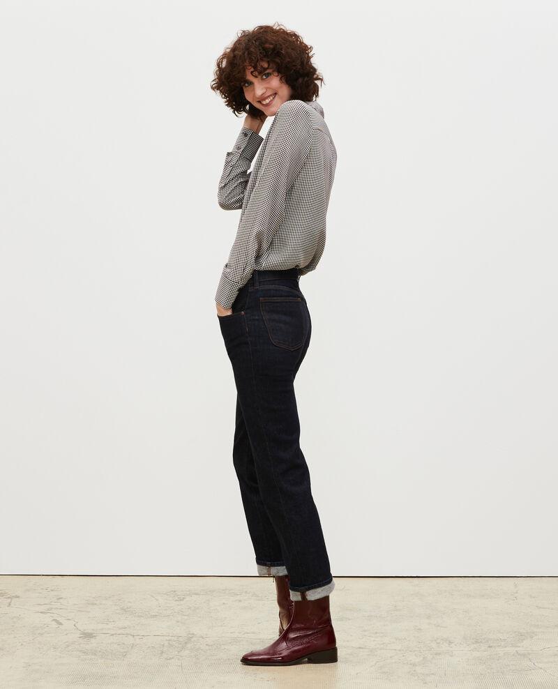 SLIM STRAIGHT - Straight dark denim jeans Denim rinse Linnea