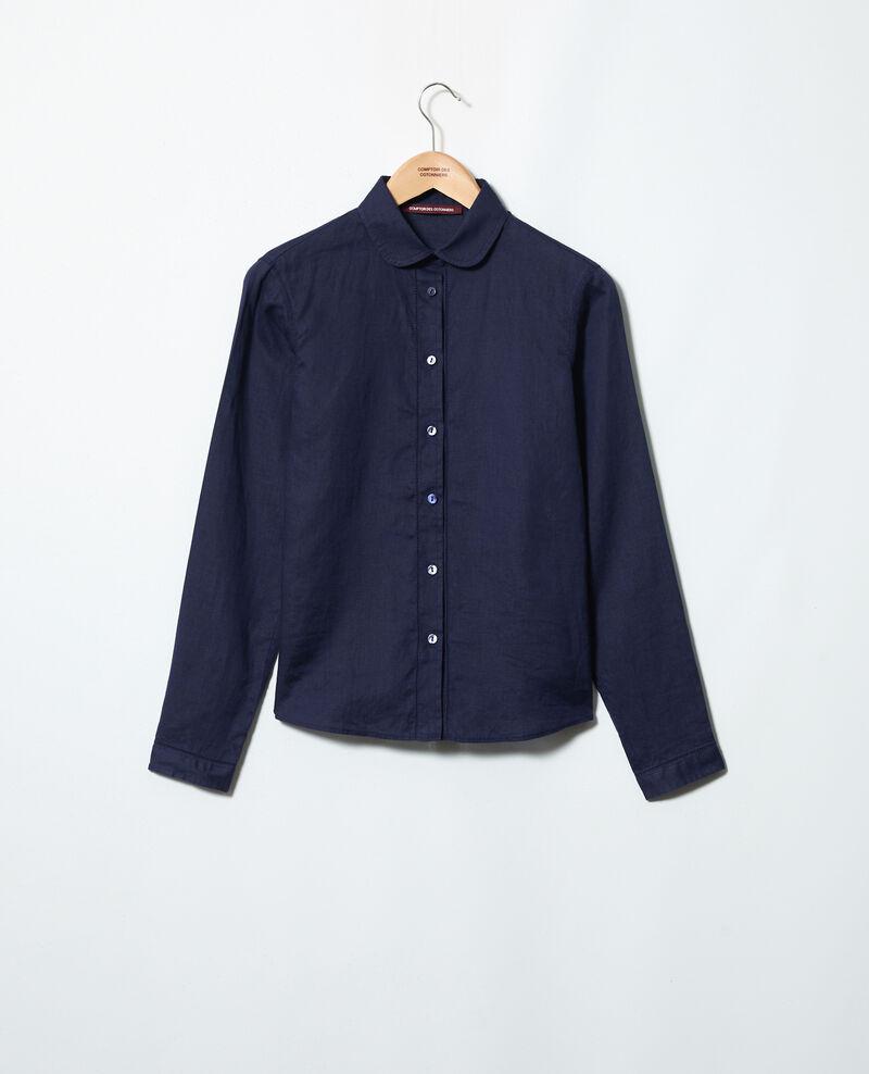 Linen shirt Ink navy Igram