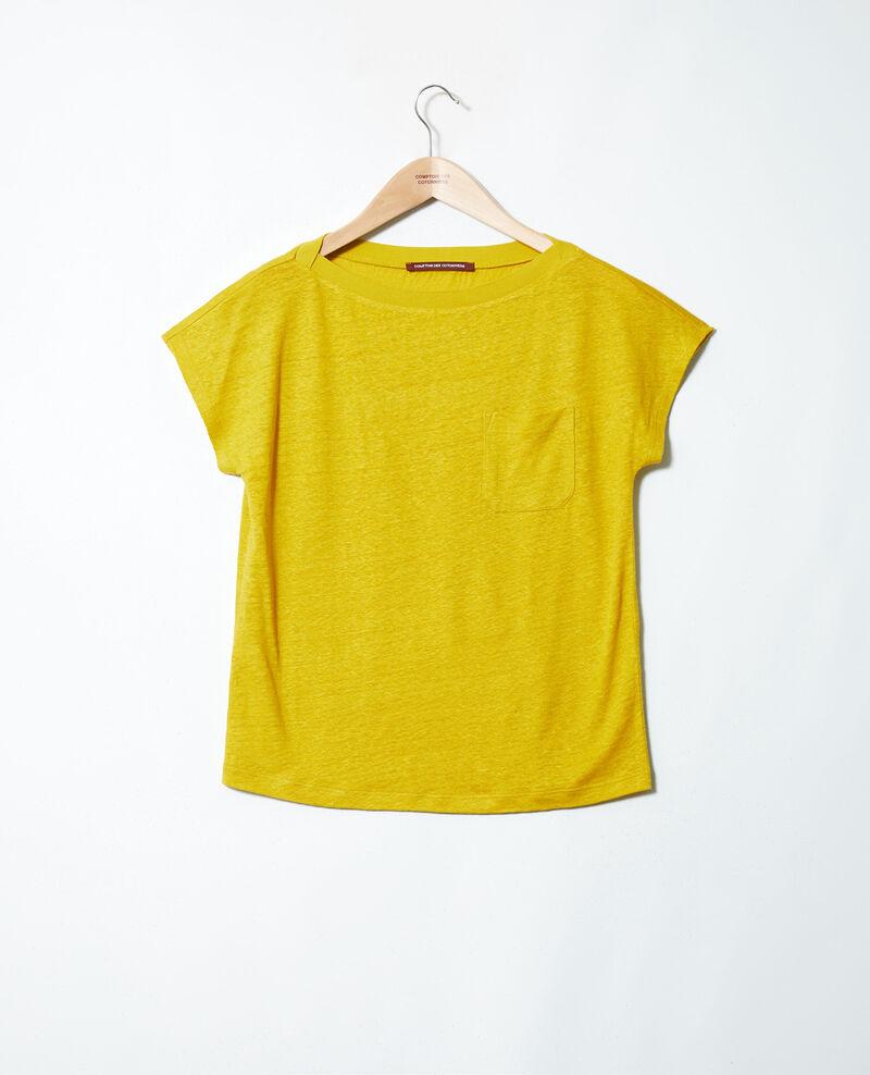 Boatneck t-shirt Antique moss Jinolita