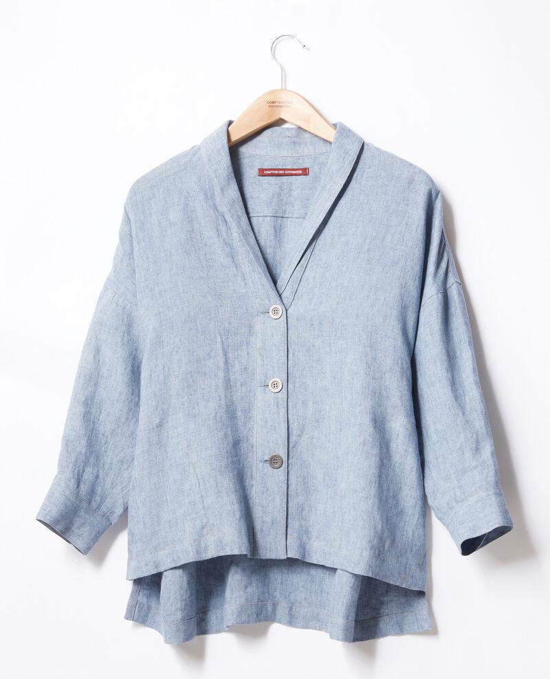Linen jacket Azur Folita