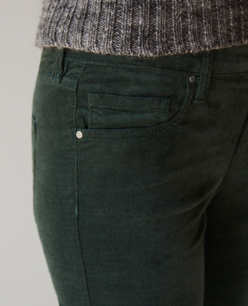 Slim fit jeans Forest green Guillemin