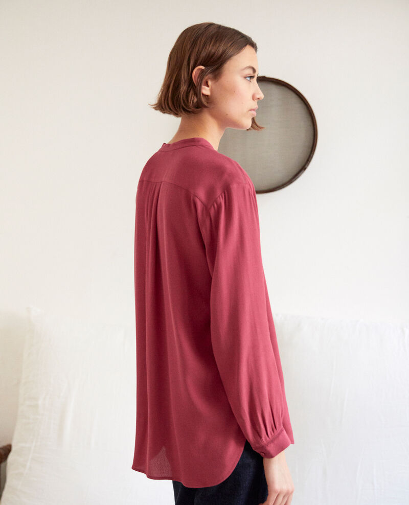 Straight-cut tunic Rouge Giluce