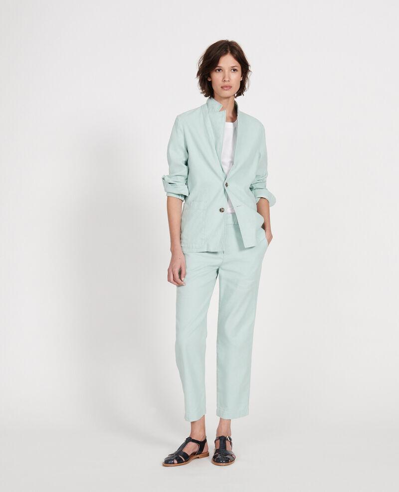 Linen blazer Blue haze Lalbere
