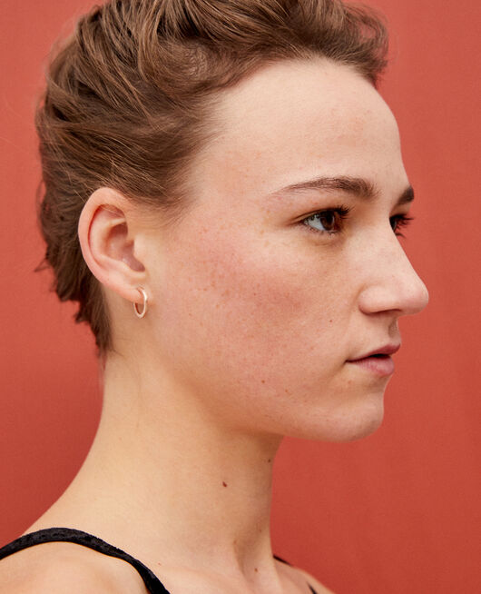 Round earrings COOPER