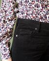 Smooth velvet trousers Noir Juillemin