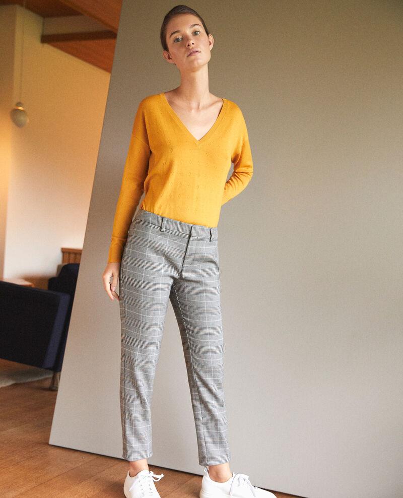 Straight-leg trousers Black Grace