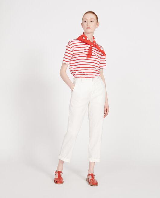 Linen trousers GARDENIA