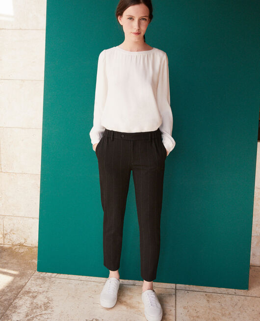 Carrot trousers Black