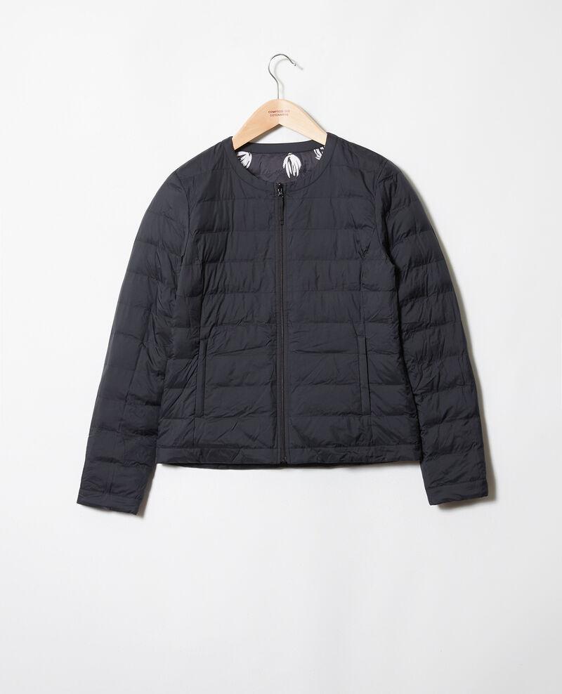 Iconic puffer jacket Tulip noir Jillopa