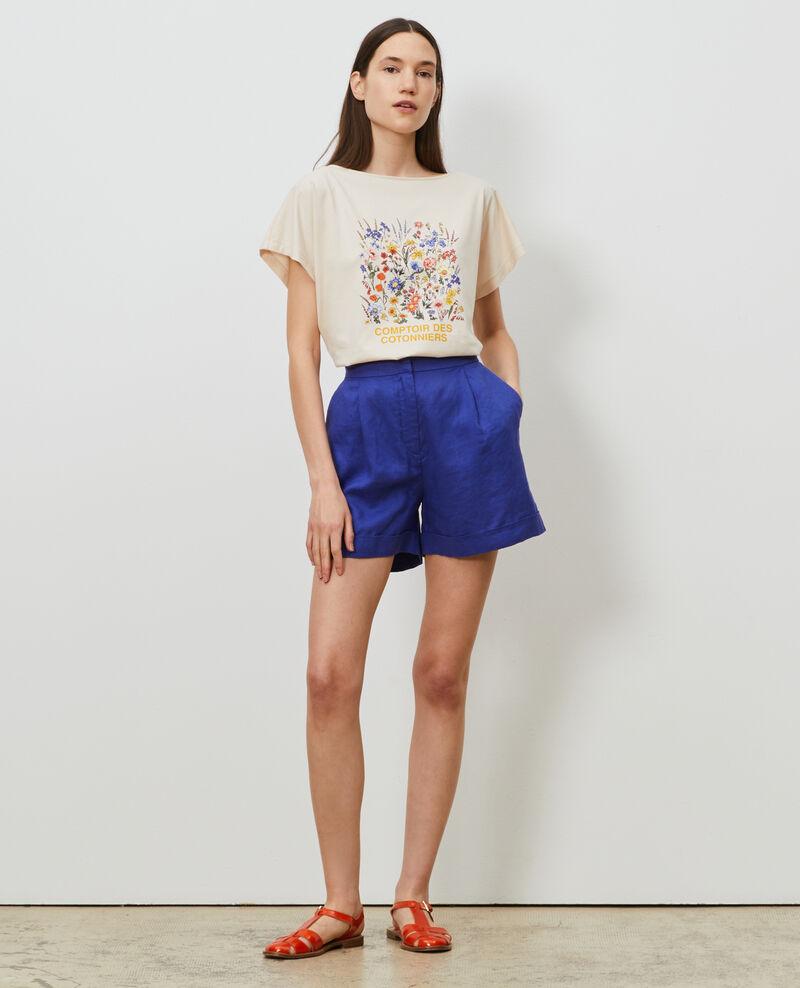 Short-sleeve cotton t-shirt Tapioca Marcelin
